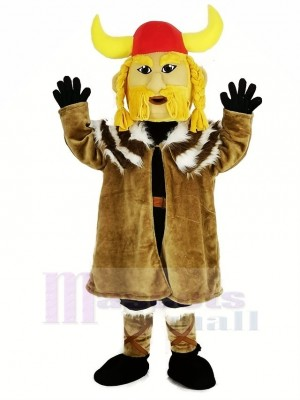Thor the Giant Viking Mascot Costume People