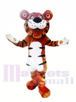 Happy Cartoon Tiger Mascot Costumes