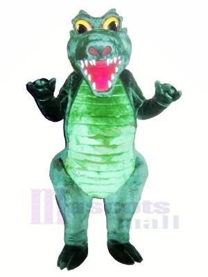 Strong Green Crocodile Mascot Costumes