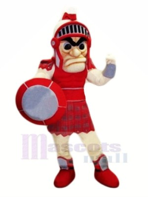 Fierce Red Titan Mascot Costumes Adult