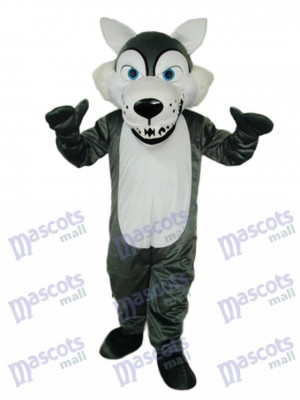 Short-haired Wolf Mascot Costume Animal
