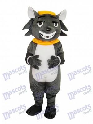 Big Big Wolf Adult Mascot Costume Animal