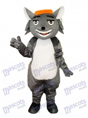 Wolf Fang Mascot Adult Costume Animal