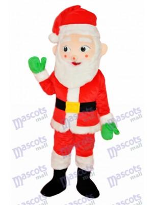 Santa Claus Adult Mascot Costume Christmas Xmas