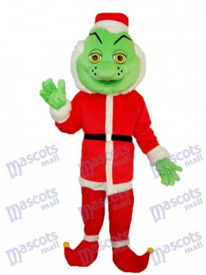 Odd Santa Claus Mascot Adult Costume Christmas Xmas