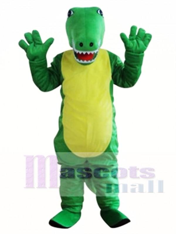 Crocodile Mascot Adult Costume
