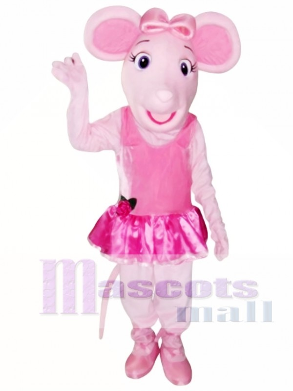 Angelina Ballerina Mouse Mascot Costumes