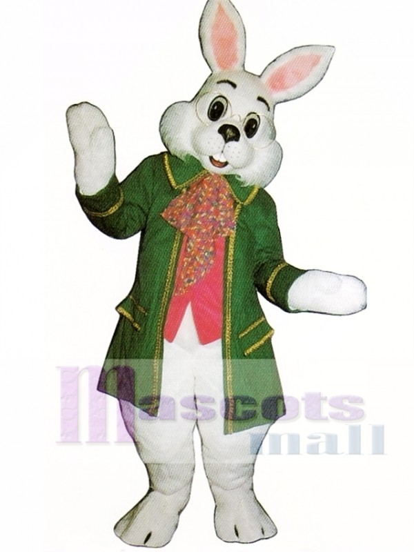 Wendell Green Rabbit Easter Bunny Mascot Costume