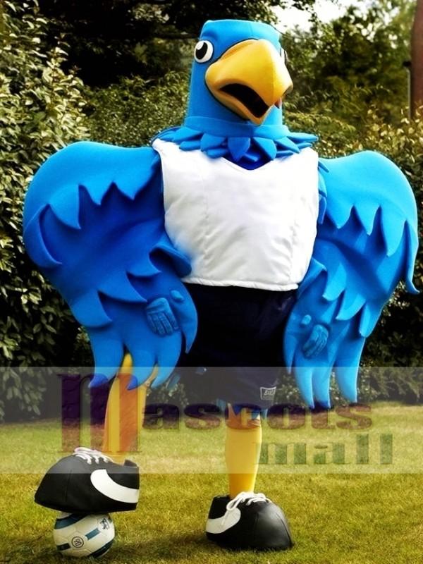 & Big Blue Bird Mascot Costume