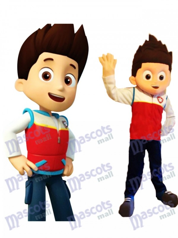 Paw Patrol Ryder Mascot Costume Cosplay Carton Mascot Costume TYPE A