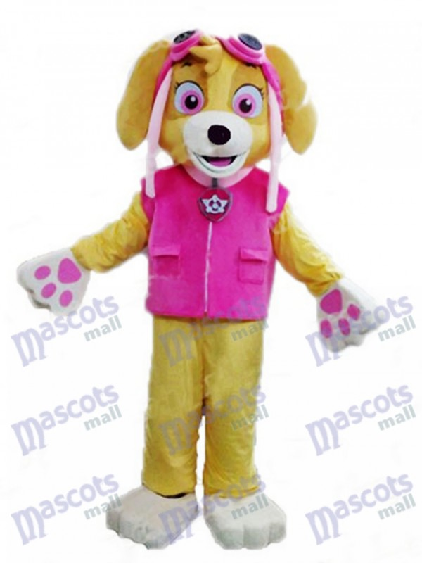 sc 1 st  mascot costume & Paw Patrol Skye Adult Mascot Costume Dog Fancy Suit Cartoon Character