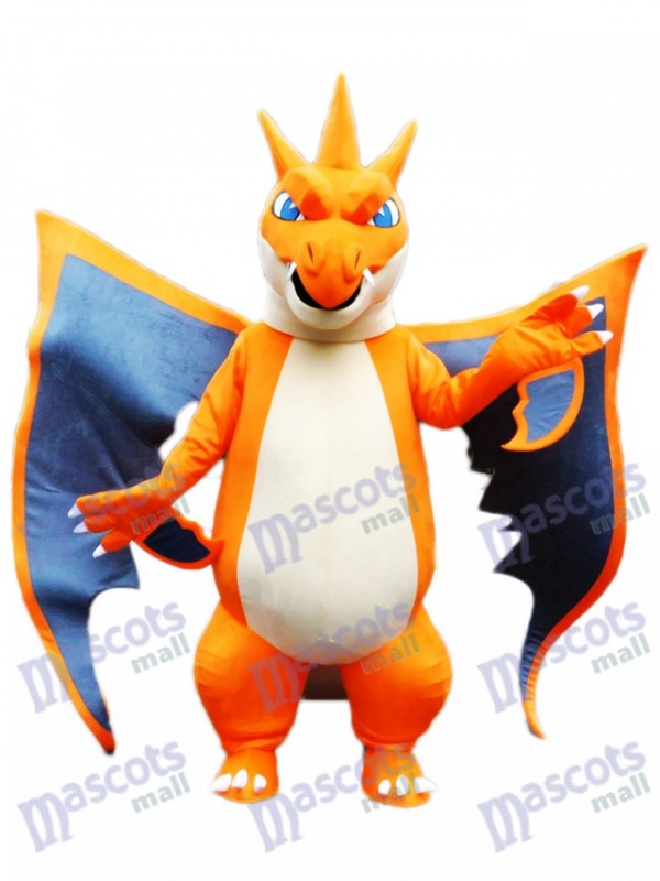 sc 1 st  mascot costume & Mega Charizard X Pocket Monster Pokemon Pokémon Go Mascot Costume