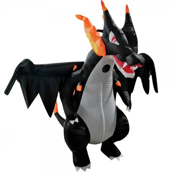 Spitfire Dragon Inflatable Costume Halloween Christmas Costume for Adult
