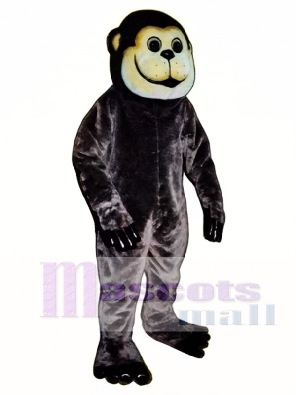 Brown Ape Mascot Costume