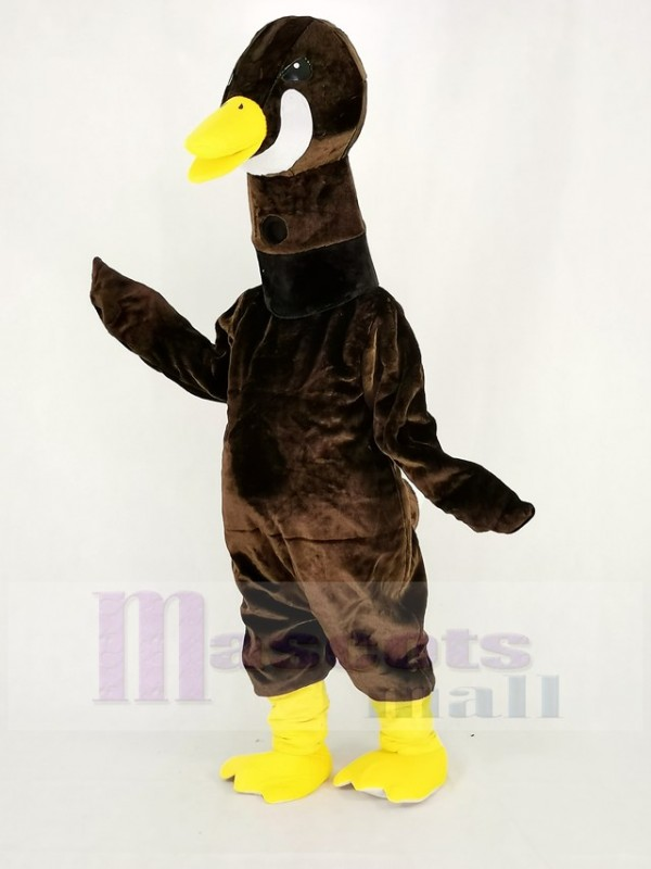 Canadian Goose Mascot Costume Cartoon
