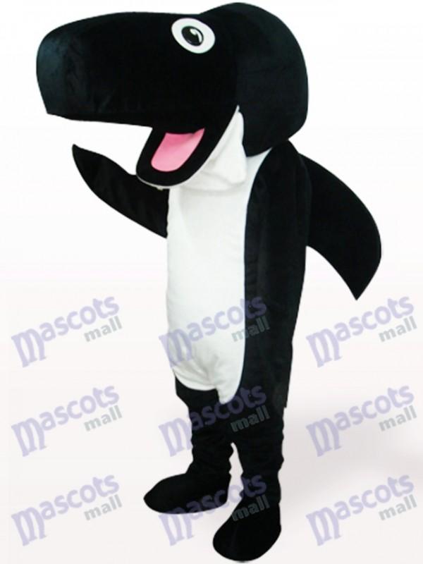 Black Whale Ocean Adult Mascot Costume