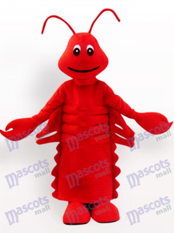 Red Lobster Cartoon Adult Mascot Costume