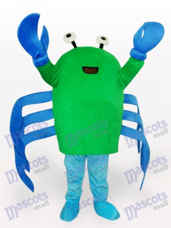 Green Crab Cartoon Adult Mascot Costume