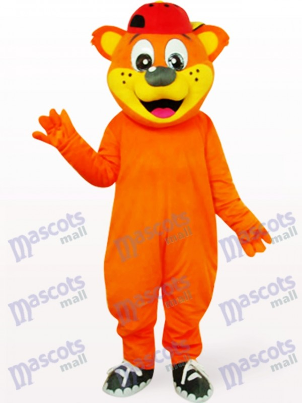 Lovely Yellow Male Pipi Bear Animal Mascot Costume