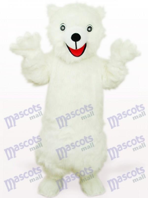 White Polar Bear Animal Mascot Costume