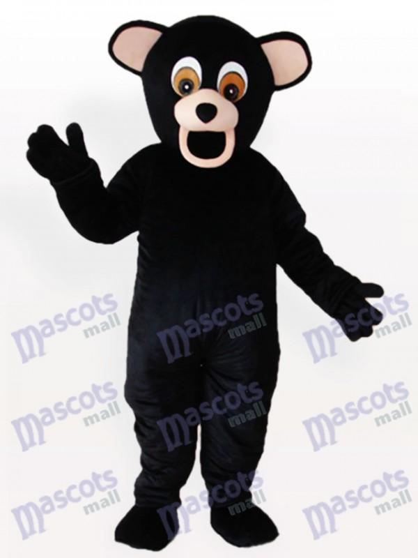 Black Bear Animal Mascot Costume