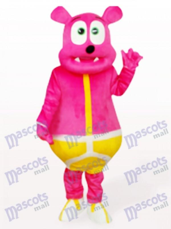 Rose Bear Monster Animal Adult Mascot Costume