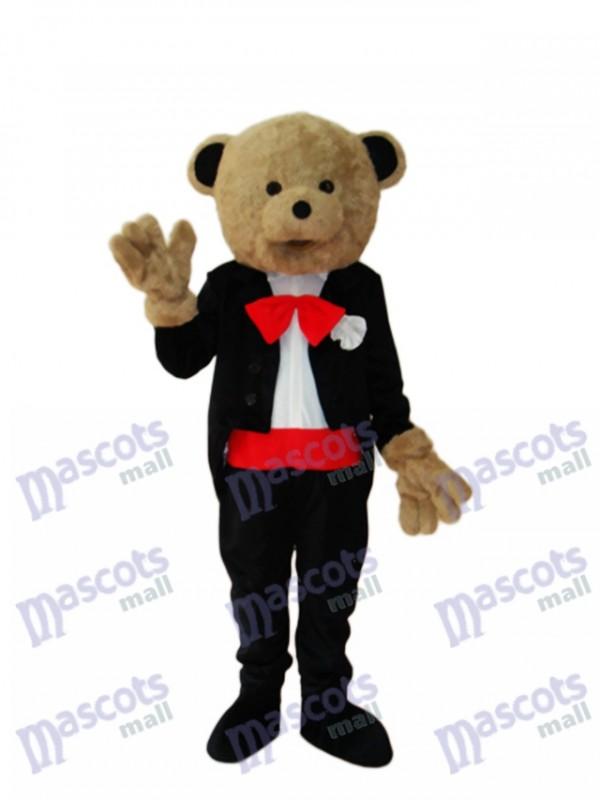 Wedding Bear Mascot Adult Costume