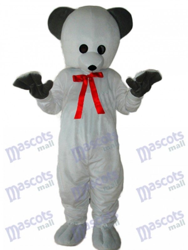 Polar White Bear Mascot Adult Costume