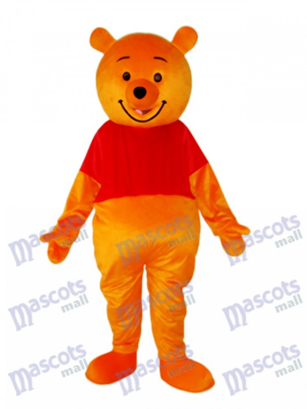 e0145f0ae1f2 Pooh Bear Mascot Adult Costume Animal