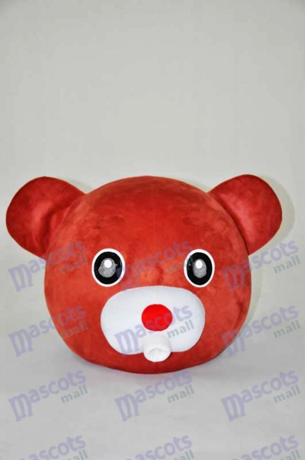 Brown Bear Teddy Bear Head ONLY Mascot Costume