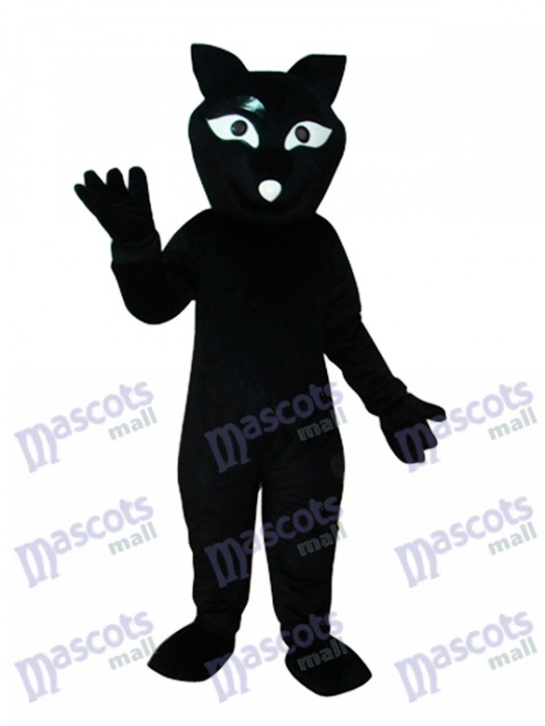 Black Beaver Mascot Adult Costume