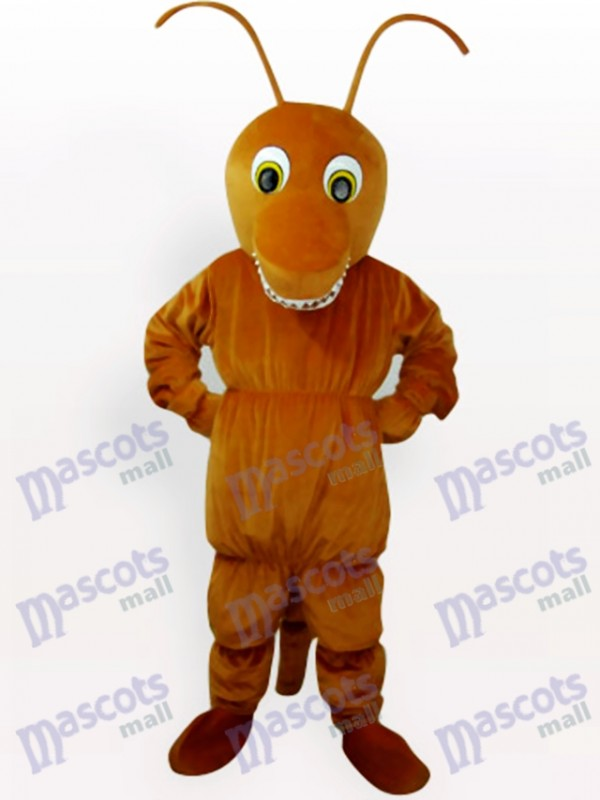 Brown Ant Insect Mascot Costume