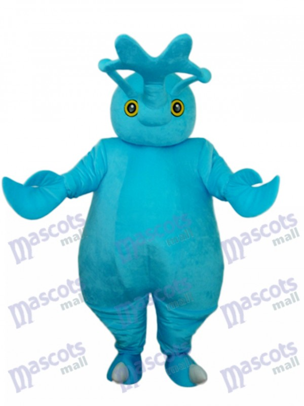 Blue Beetle Mascot Adult Costume Insect