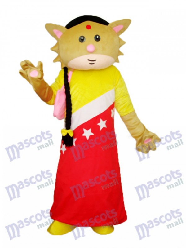 Catwoman Mascot Adult Costume