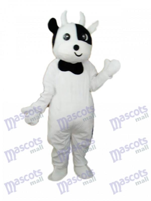 Odd Face Cow Mascot Adult Costume