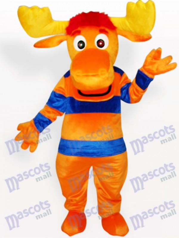 Stripe Deer Animal Adult Mascot Costume