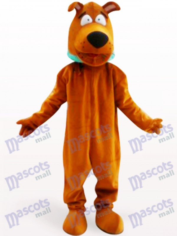 Scooby Dog Animal Adult Mascot Costume