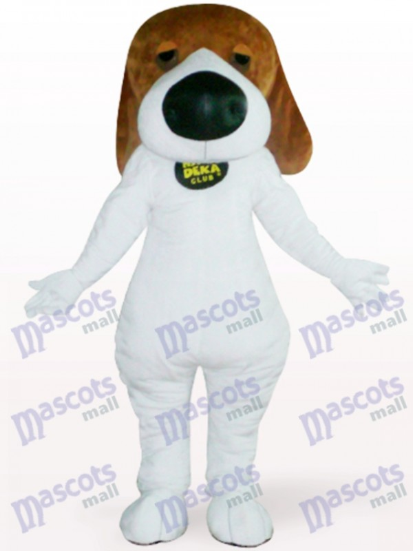 Dog With Big Nose Animal Adult Mascot Costume