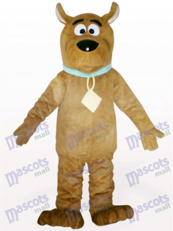 Brown Dog Animal Adult Mascot Costume
