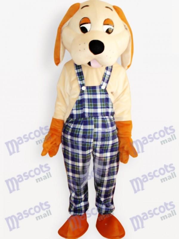 Happy Dog Animal Adult Mascot Costume
