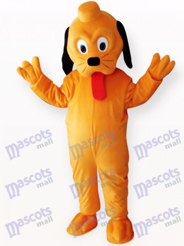 Yellow Dog Animal Adult Mascot Costume