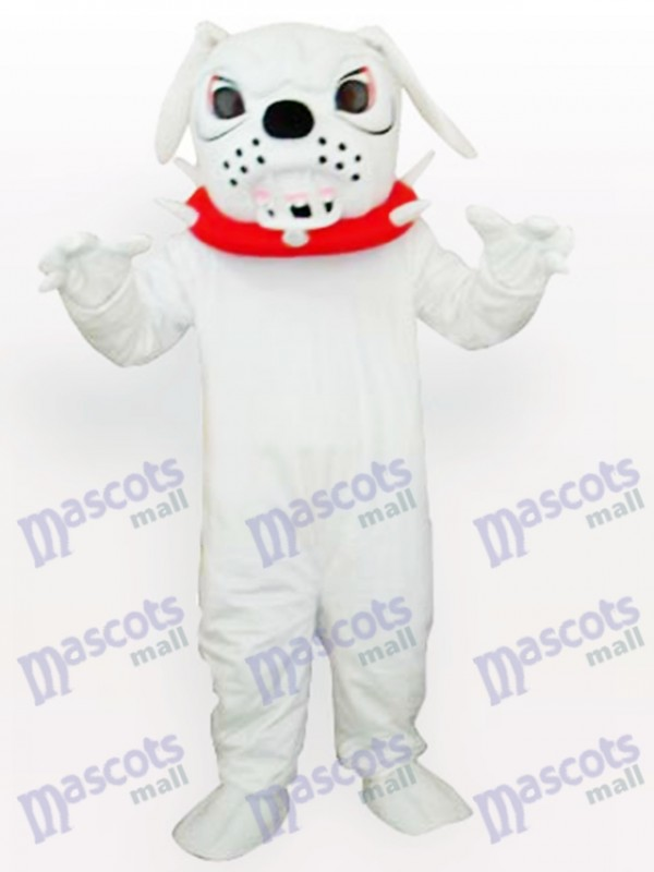 Spike Dog with Red Collar Adult Mascot Costume