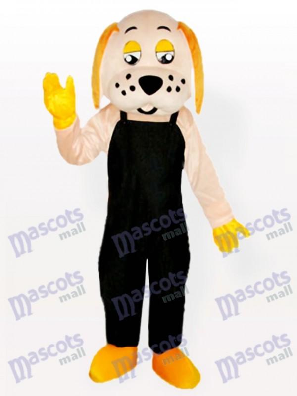 Fortune Dog Adult Mascot Costume