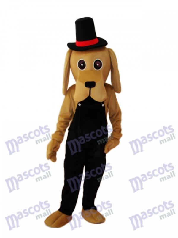 Shar Pei Dog Mascot Adult Costume