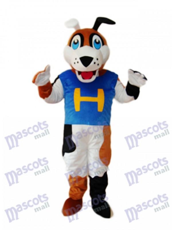 Mitt Dog Mascot Adult Costume
