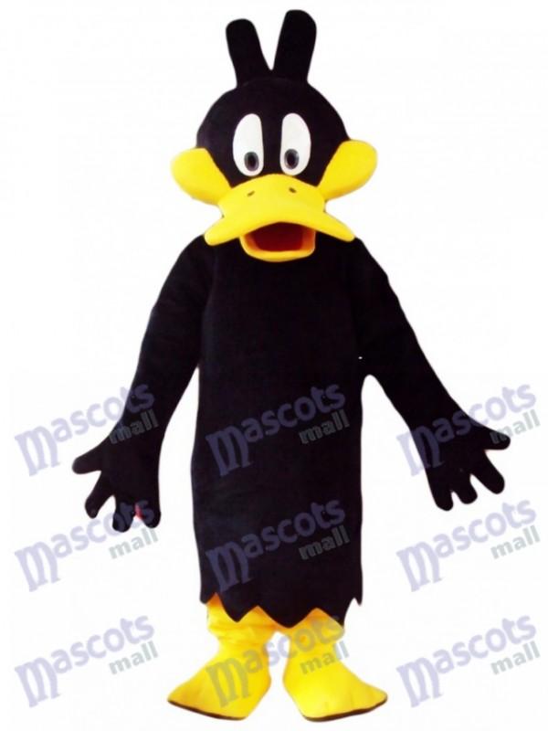 Black Daffy Duck Mascot Costume