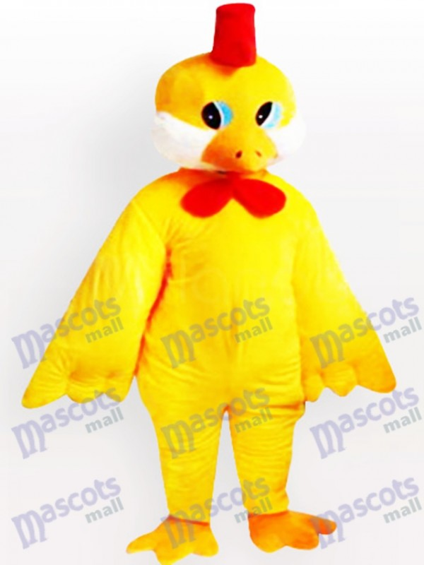 Yellow Little Chicken Adult Mascot Costume