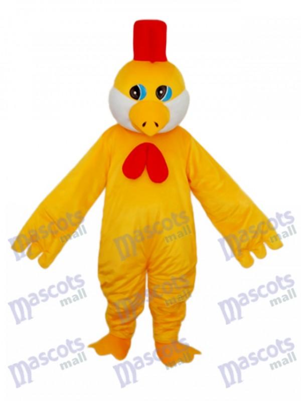 Little Yellow Chicken Mascot Adult Costume
