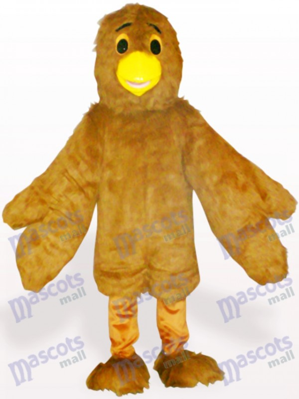 Brown Eagle Adult Mascot Costume