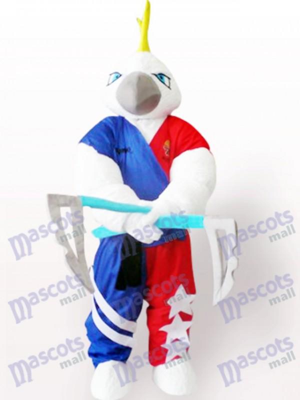 Muscle Eagle Adult Mascot Costume